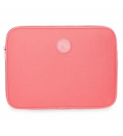 Funda para Tablet Roll Road coral -30x22x2cm-