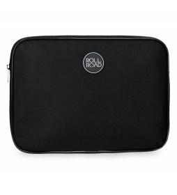 Funda para Tablet Roll Road negro -30x22x2cm-