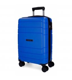Maleta de cabina rígida Roll Road Fast azul -39x58x20,5cm-