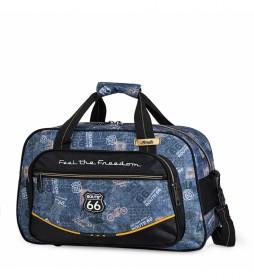 Bolsa de Deporte Infantil  Estampado R61145 negro -40x25x19cm-