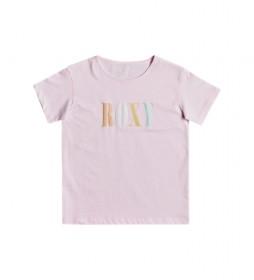 Camiseta Day And Night Mult Girl rosa