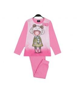 Pijama Lambkins rosa