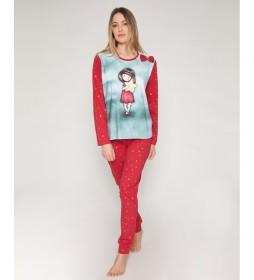 Pijama My Star frambuesa