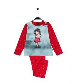 Pijama My Star frambuesa, multicolor