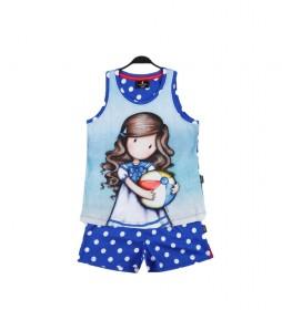 Pijama Beachball azul