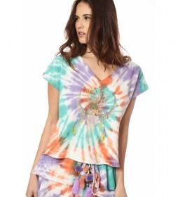 Camiseta Medea multicolor