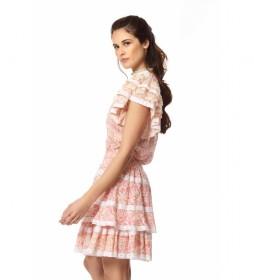 Falda Jane rosa
