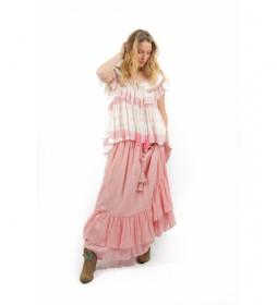 Falda Petra rosa