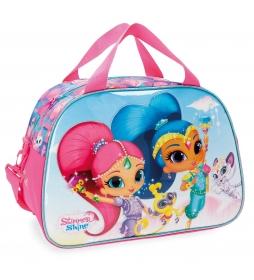 Bolsa de viaje Shimmer and Shine Twinsies -40x28x22cm-