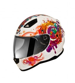 SHIRO HELMETS Casco integral SHIRO SH-881 Princess blanco