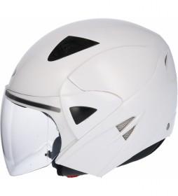 SHIRO HELMETS Jato de capacete SHIRO SH-60 Manhathan branco