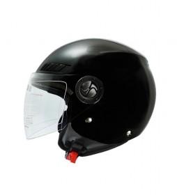 SHIRO HELMETS SHIRO capacete jacto SH-62 brilho negro