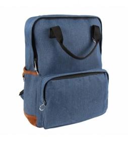 Mochila Casual Denim Cerda azul -27x38x11cm-
