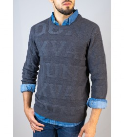 Jersey Embossed gris