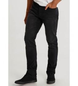 Pantalón Denim Comfort negro