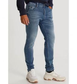 Jeans Double Stone azul