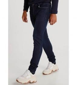 Jeans Medium Dark Blue marino
