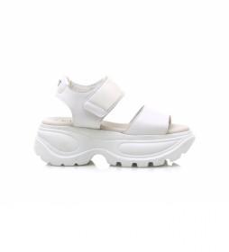 Sandalias Flash blanco -Altura plataforma: 6,5 cm-