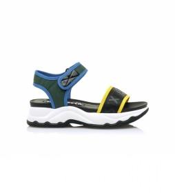Sandalias Tokyo negro -Altura plataforma: 5cm-