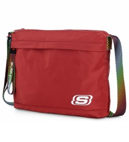 Bandolera pequeña  Unisex S897 rojo -26x33x5,5cm-