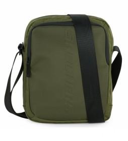 Bandolera S1022 verde -20x25x7 cm-