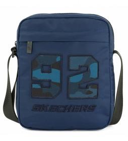 Bandolera S989 azul -20x25x6 cm