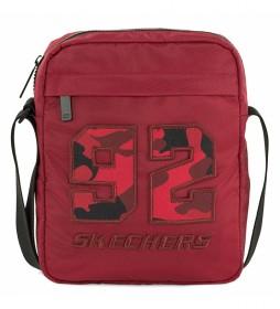 Bandolera S989 rojo -20x25x6 cm