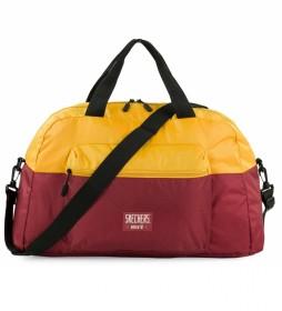 Bolsa S982 color amarillo, granate -56x30x23 cm-