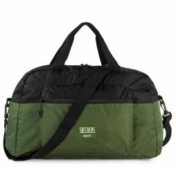 Bolsa S982 color negro verde -56x30x23 cm-