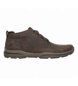 Zapatos de piel Harper Melden marrón