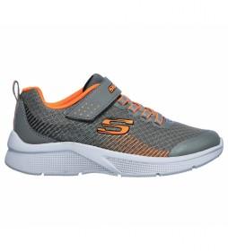 Zapatillas Microspec - Gorza gris, naranja