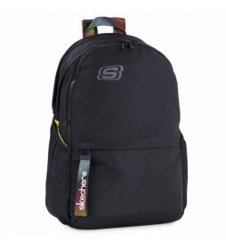 Mochila Bolsillo Interior Ipad Tablet S894 negro -30x46x15cm-