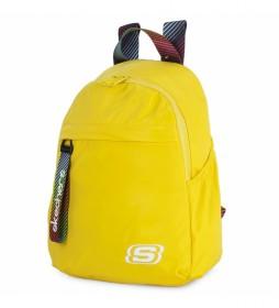 Mochila Pequeña S895 amarillo -32x23x12cm-