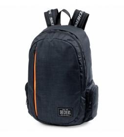 Mochila Unisex S885 negro -30x50x13cm-