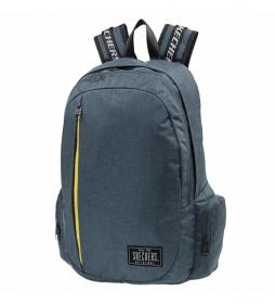 Mochila Unisex S885 azul -30x50x13cm-