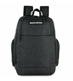 Mochila S1002 negro -30x45x17 cm-