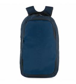 Mochila S S1021 negro -29x47x14 cm- azul