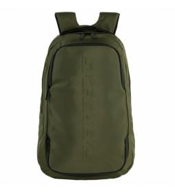 Mochila S S1021 verde -29x47x14 cm-