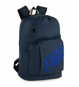 Mochila S928 azul marino -29x46x16 cm-