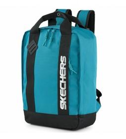 Mochila escolar. s992 -30x41x13,5cm-  azul