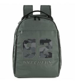 Mochila escolar S988 gris -31x42,5x16 cm-