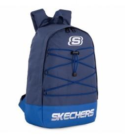 Mochila S1035 azul -28x43x13 cm-