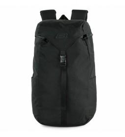 Mochila S1038 negro -26x46x14 cm-