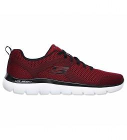 Zapatillas Summits-Brisbane rojo