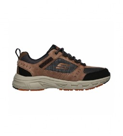 Zapatillas Relaxed Fit Oak Canyon marrón, negro