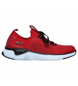 Zapatillas Sola Fuse Valedge rojo
