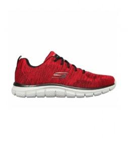 Zapatillas Track Front rojo
