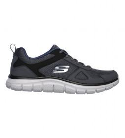 Zapatillas Track gris, marino