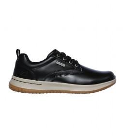 Zapatillas de piel Delson Antigo negro