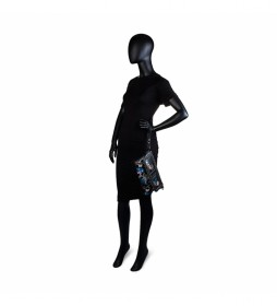Bolso bandolera 95561 negro -19x28x4cm-